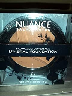 Nuance Salma Hayek Flawless Coverage Mineral Foundation Deep 240 by N/A
