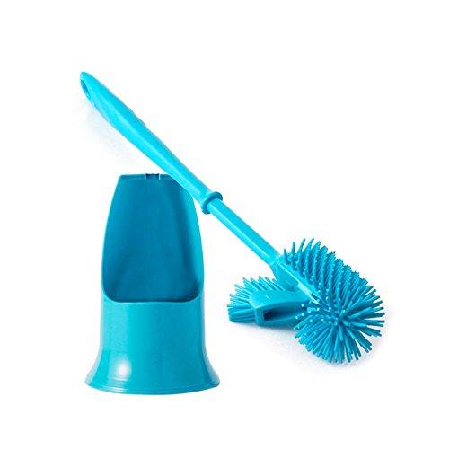 ieasycan arrivo fronte-retro decontaminazione forte angolo all' interno del WC spazzola di pulizia per bagno Scarpette a strappo Voltaic 3 Velcro Fade - Bambini