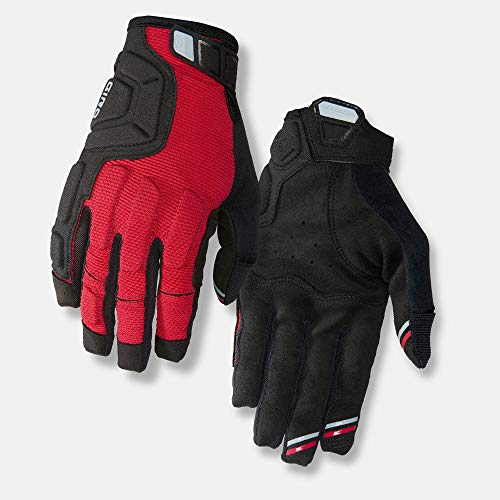 Giro Remedy X2 Adult Unisex Downhill Cycling Gloves - Dark Red/Black/Grey (2020), Small