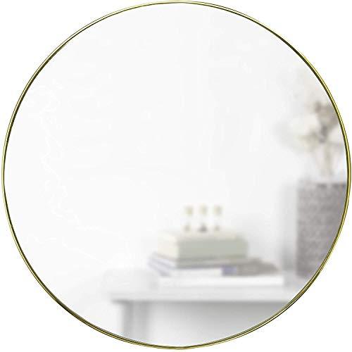 Umbra 1012715-104 - Espejo de Pared Redondo (86 cm, latón)