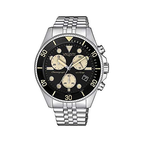 orologio cronografo uomo Vagary By Citizen Acqua casual cod. VSI-019-51