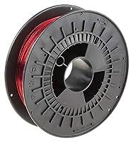 RS PRO 3Dプリンタ用フィラメント 半透明赤 1.75mm PET-G 8919280