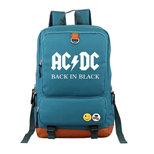 Herren Und Damen Four Seasons Rucksack Rock Band AC/DC Paar Reisetasche Computertasche Studententasche