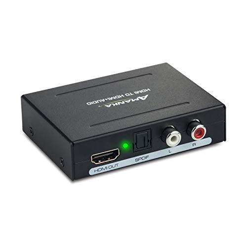 AMANKA 1080P HDMI Extractor Audio...
