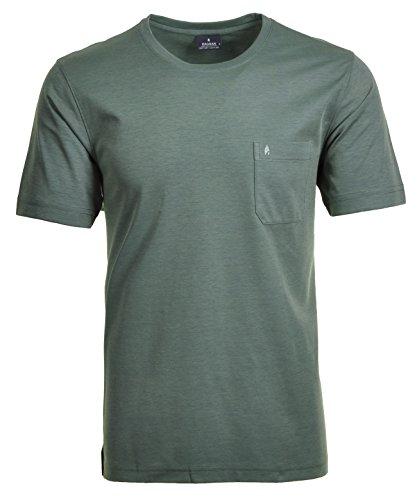 Ragman Herren T-Shirt Softknit Uni, Pflegeleicht