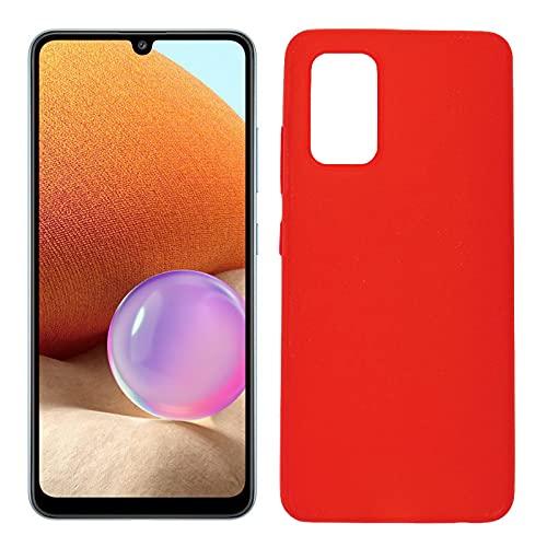 Mb Accesorios Funda Carcasa Gel Roja para Samsung Galaxy A32 4G, Ultra...