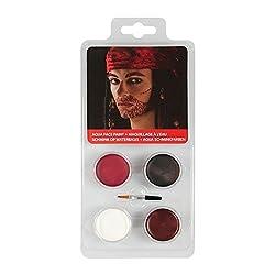 Ofertas Tienda de maquillaje: Con este set, los más pequeños pueden maquillarse como los grandes. Aplique el maquillaje sobre la piel limpia y seca. Use jabón suave y agua tibia para el maquillaje. Colores: blanco, marrón, negro, rojo. Con pincel de maquillaje Entrega: 1x set de ...