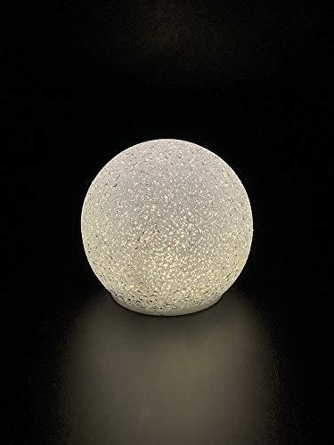 Style home LED Kugel 20CM Warmweiß Batteriebetriebene Kugelleucht für Innen Party Weihnachten Hochzeit Dekoartikel
