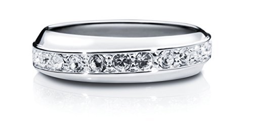 Liora Crystal Eternity Ring (S)