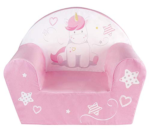 FUN HOUSE 713069 Licorne Fauteuil Club Enfant Origine France Garantie