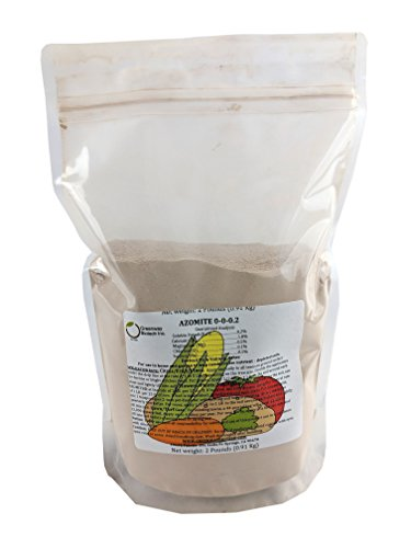 Azomite Rock Dust Volcanic Ash (Certified Dealer) Trace Minerals'Greenway Biotech Brand' 2 Pounds