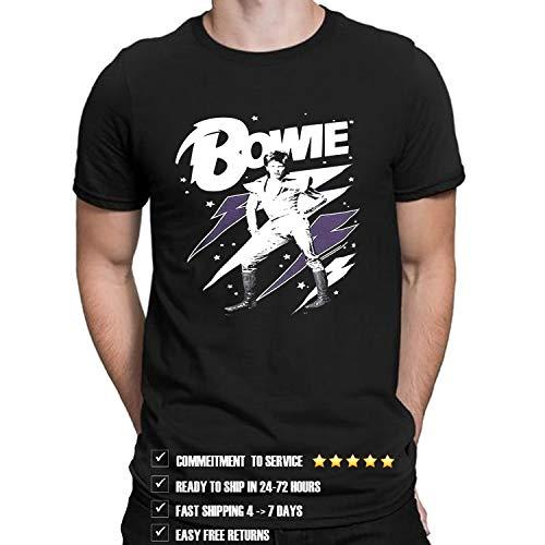 Da vi_d Bowi_e Lightning Bolt T Shirt for Men and Women D5 (Design - 1)