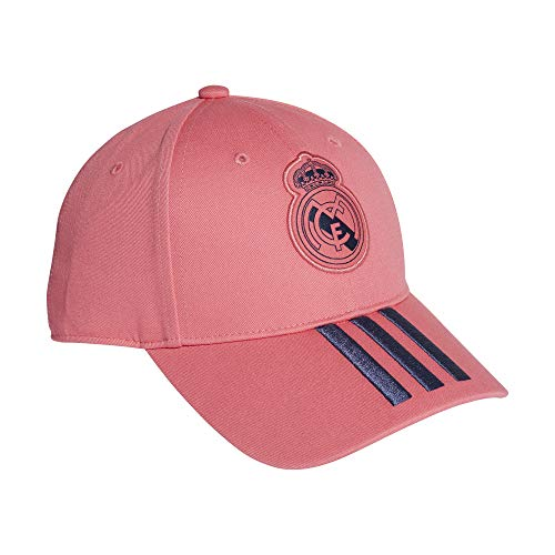 Adidas Unisex Real Madrid Cap (GM6245, Free Size, Pink and Dark Blue)
