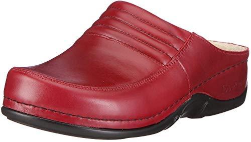Berkemann 01112 Sydney Victoria, Damen Clogs & Pantoletten, Rot (weinrot 277), EU 37.5, (UK 4.5)