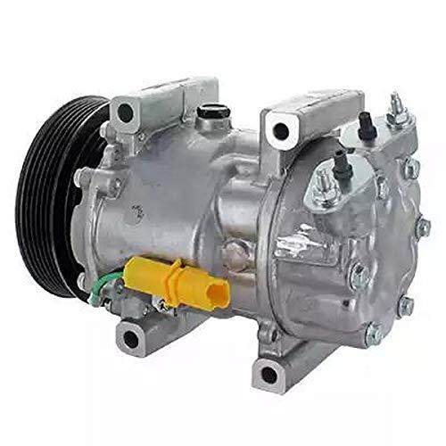 Compressore climatizzatore aria condizionata 9145374924659 EcommerceParts per costruttore: GENUINE, ID compressore: 6V12, Puleggia-Ø: 119 mm, N° alette: 6, Tensione: 12 V #bs