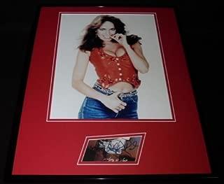 Catherine Bach Signed Framed 16x20 Photo Display Dukes of Hazzard Daisy Duke B