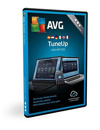 AVG TuneUp | Dispositivos Ilimitados | 1 Año | En Caja