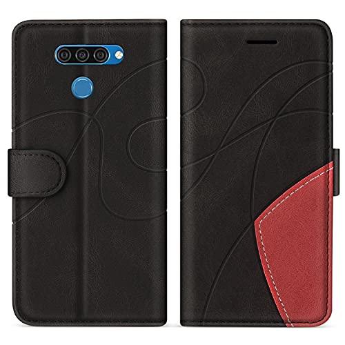SUMIXON Cover per LG K50 / LG Q60, Custodia in PU Pelle per LG K50 / LG Q60, Portafoglio...