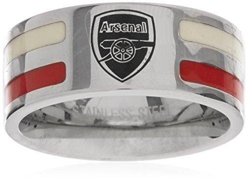 Arsenal F.c. Colour Stripe Ring Large Official Merchandise