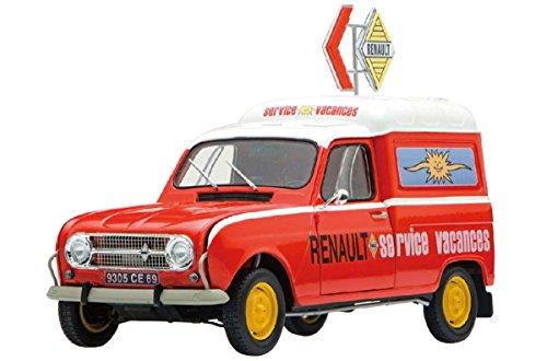 Ebbro - Juego de 3 Modelos de Furgoneta Renault 4 (Escala 1/24)