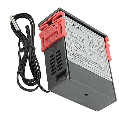 controlador de temperatura digital STC-1000 microordenador pantalla digital termostato 110V-220V