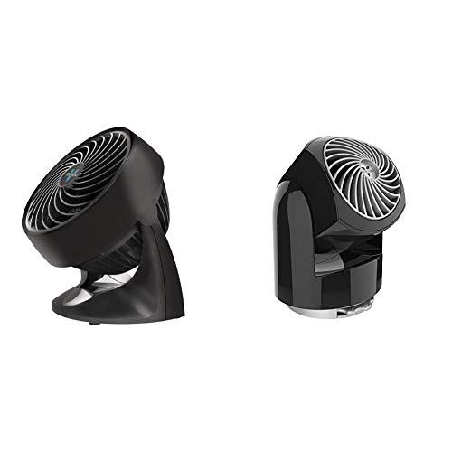 Vornado 133 Compact Air Circulator Fan & Flippi V6 Personal Air Circulator Fan, Black