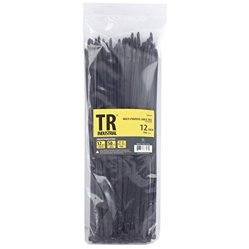 TR Industrial TR88303 Multi-Purpose Cable Ties (100 Piece), 12