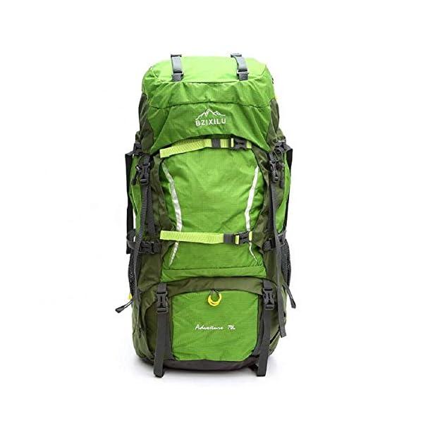 41 1QREIBbL. SS600  - Beibao Mochila al Aire Libre Mochila de Viaje Ajustable al Aire Libre, 70 litros de Gran Capacidad Mountaineering Bag, Mochila de Alta Calidad Duradera de la Cubierta de la Lluvia