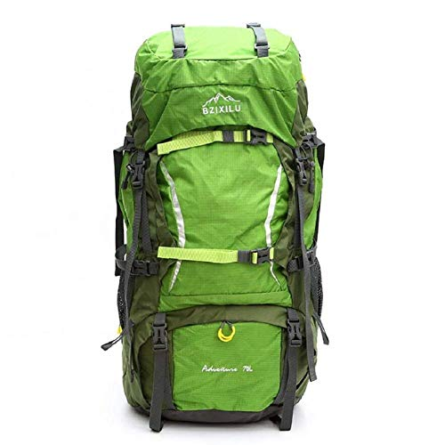 41 1QREIBbL - Beibao Mochila al Aire Libre Mochila de Viaje Ajustable al Aire Libre, 70 litros de Gran Capacidad Mountaineering Bag, Mochila de Alta Calidad Duradera de la Cubierta de la Lluvia