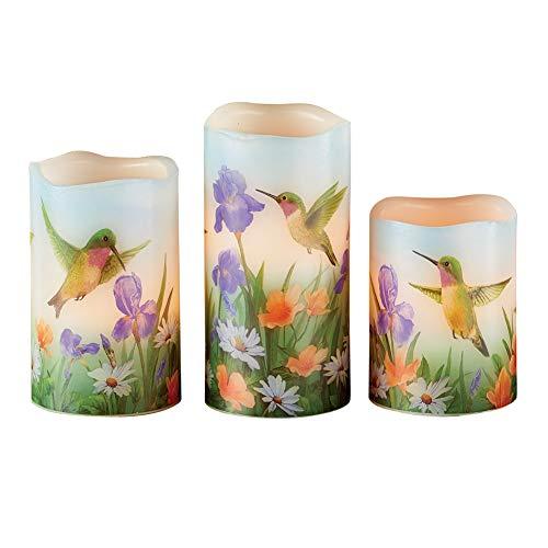 Hummingbird Candle Set