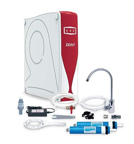 Osmosis compacta doméstica flujo directo PREMIUM - ZENIT PUMP, bajo rechazo de agua (ECO)