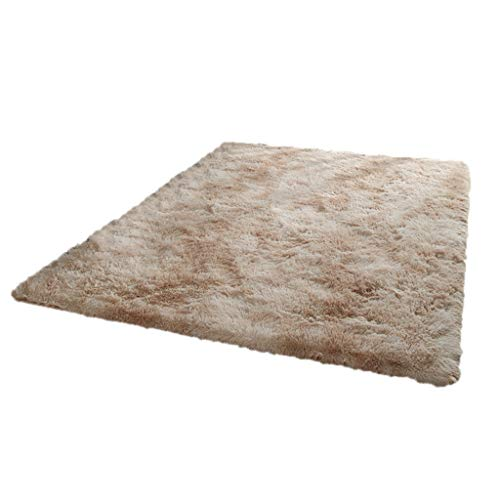 Lowest Prices! Area Rugs ,for Girls Kids Bedroom Decor Modern Non-Slip Rug Fluffy (Color : Camel, ...