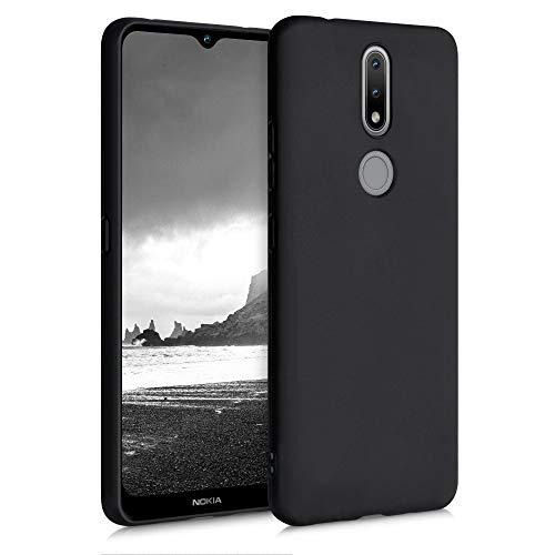 kwmobile Hülle kompatibel mit Nokia 2.4 - Hülle Handyhülle - Handy Hülle in Schwarz