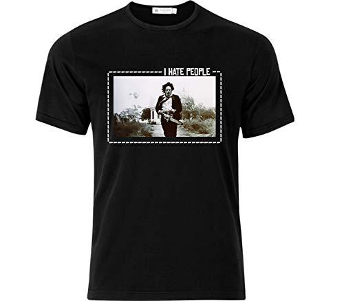 Bulletproof Apparel I Hate People Leatherface Texas Chainsaw Massacre camiseta