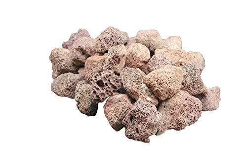4KG Lava Rocks for Gas BBQ, Fire pit, Aquarium, Chiminea (4KG)