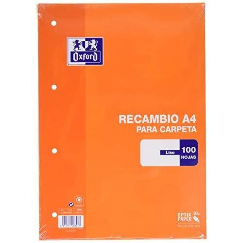 Oxford 100430209 - Recambios (100 hojas A4