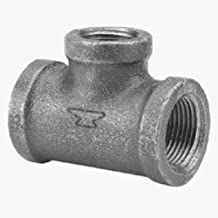 Anvil 8700121307 Malleable Iron Pipe Fitting, Reducing Tee, 3/4