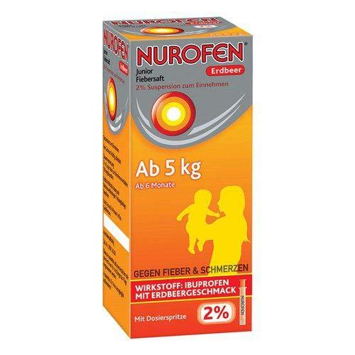 NUROFEN Junior Fiebersaft Erdbeer 2% 100 ml