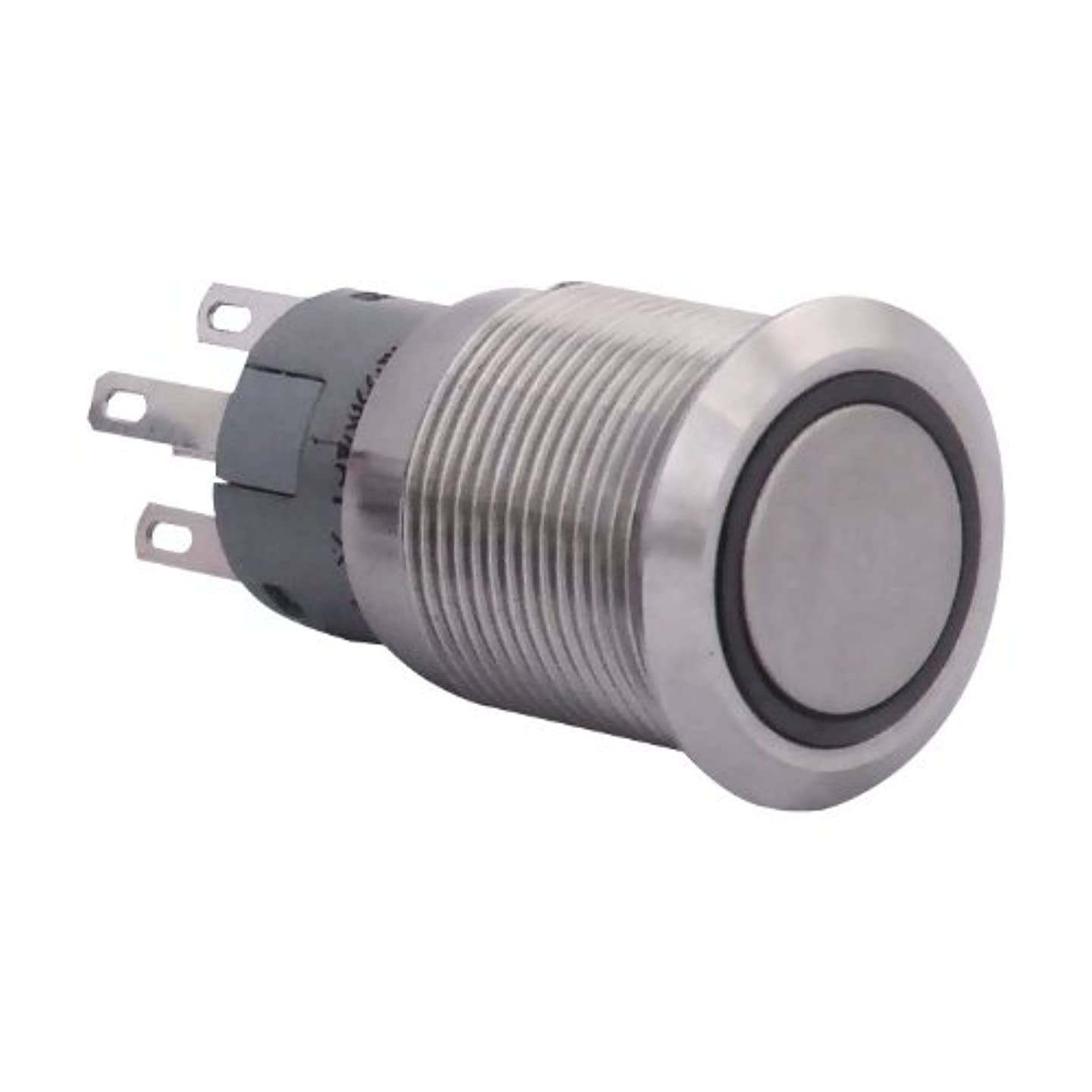 Plasmaglow 11015 White Stainless Steel LED Activator Switch (On/Off Version)