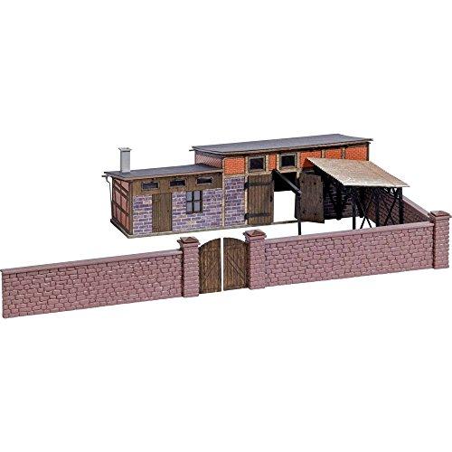 Busch 1531 - Hinterhofgebäude Schlachterei, Fahrzeug