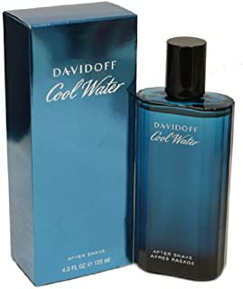 Cool Water By Zino Davidoff For Men. Aftershave 4.2 Oz / 125 Ml.