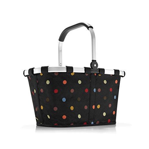 reisenthel carrybag BK7009 dots – Einkaufskorb mit 22l Volumen – Praktisch und handlich – B 48 x H 29 x T 28 cm