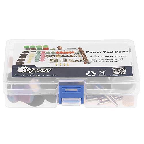 Kit de Amoladora eléctrica rotativa de 141 Piezas, Mini Kit de Herramientas...