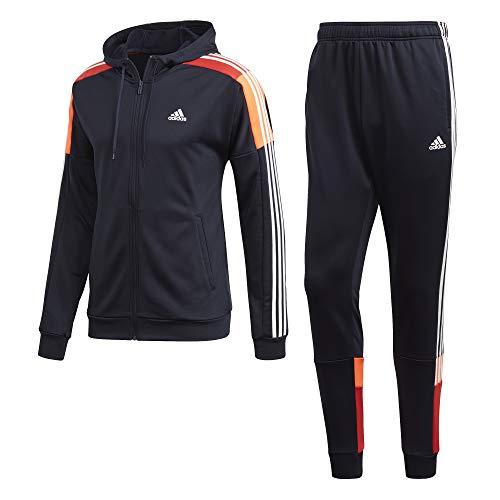 adidas Herren MTS Sport Sportoutfit, Tinley/Blanco, L