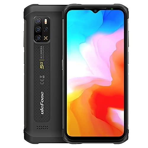 5G Telefono Robusto Ulefone Armor 12, 8GB+128GB, 6,52 Pollici Android 11 Rugged Smartphone, Fotocamera Posteriore Quad 48MP, Altoparlante HiFi,Impermeabile IP68 IP69K,Ricarica Wireless GPS NFC Nero