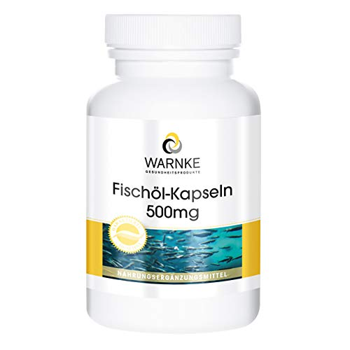 Aceite de Pescado 500mg – 30% de ácidos grasos Omega 3 (EPA y DHA) – 250 cápsulas blandas