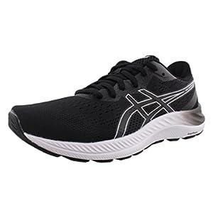 ASICS Women's Gel-Excite 8 Running Shoes, 7, Black/White