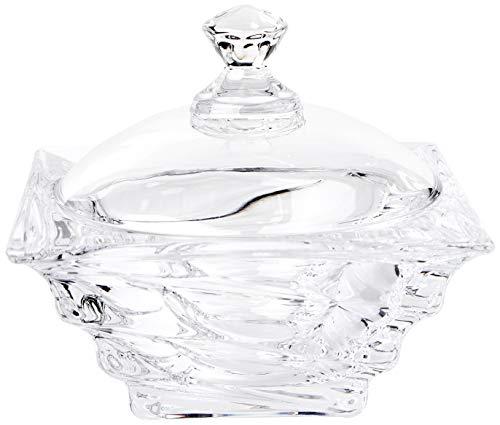 Bomboniere Bohemia Transparente 115mm Cristal Ecológico