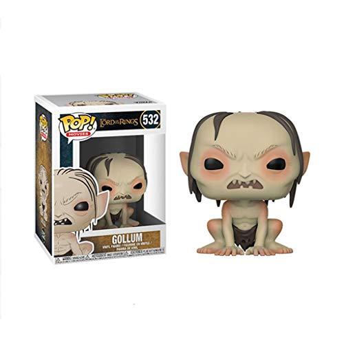 LLFX POP Der Herr der Ringe Figuren - Gollum Figur Sammlung Puppe Ornamente Dekoration 10cm PVC for Boys