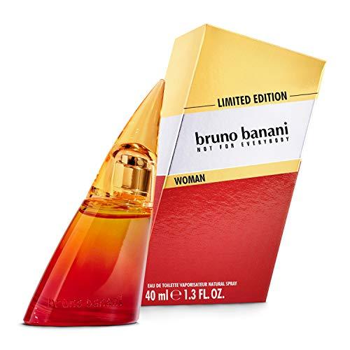 bruno banani Limited Edition, orientalisch-fruchtiges EdT für Sie, 1er Pack (1 x 40 ml)